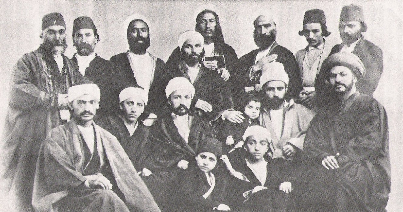 Early Bahāʾīs, including several sons of Bahāʾ-Ollāh. [1]